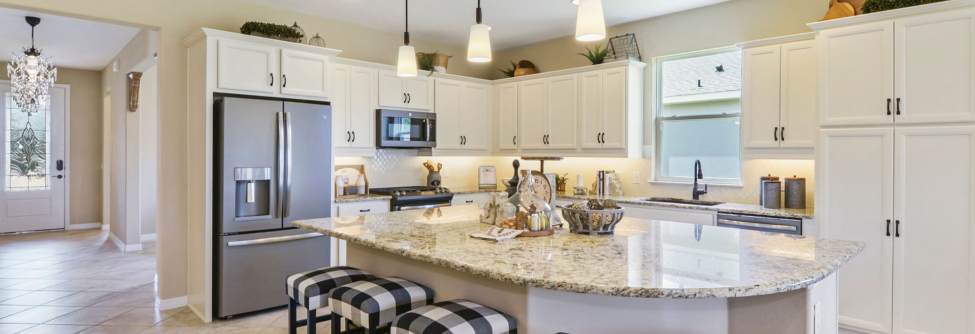 Ocala Declare Model Home Kitchen