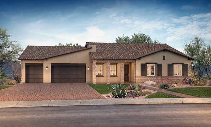 Adobe Ranch Elevation B