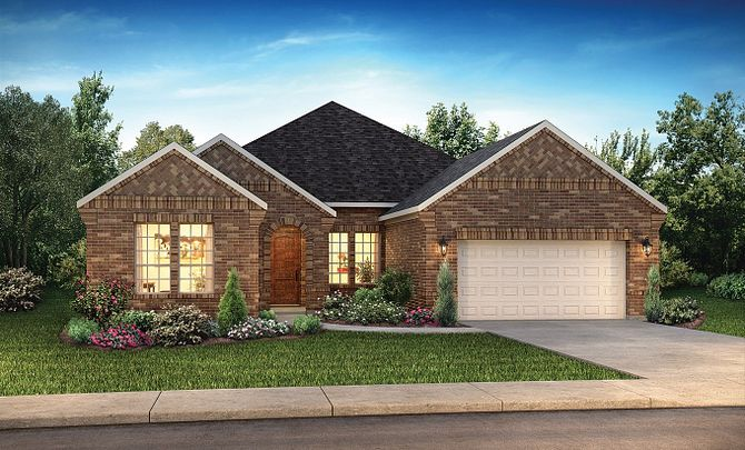 Plan 5114 Elevation A: Americana
