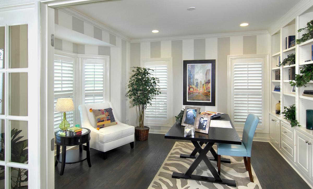 Silverado plan Formal Room 2 with built-ins