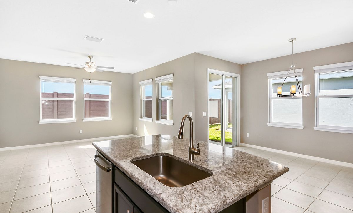 Trilogy at Ocala Preserve Quick Move In Home Muros Plan Kitchen