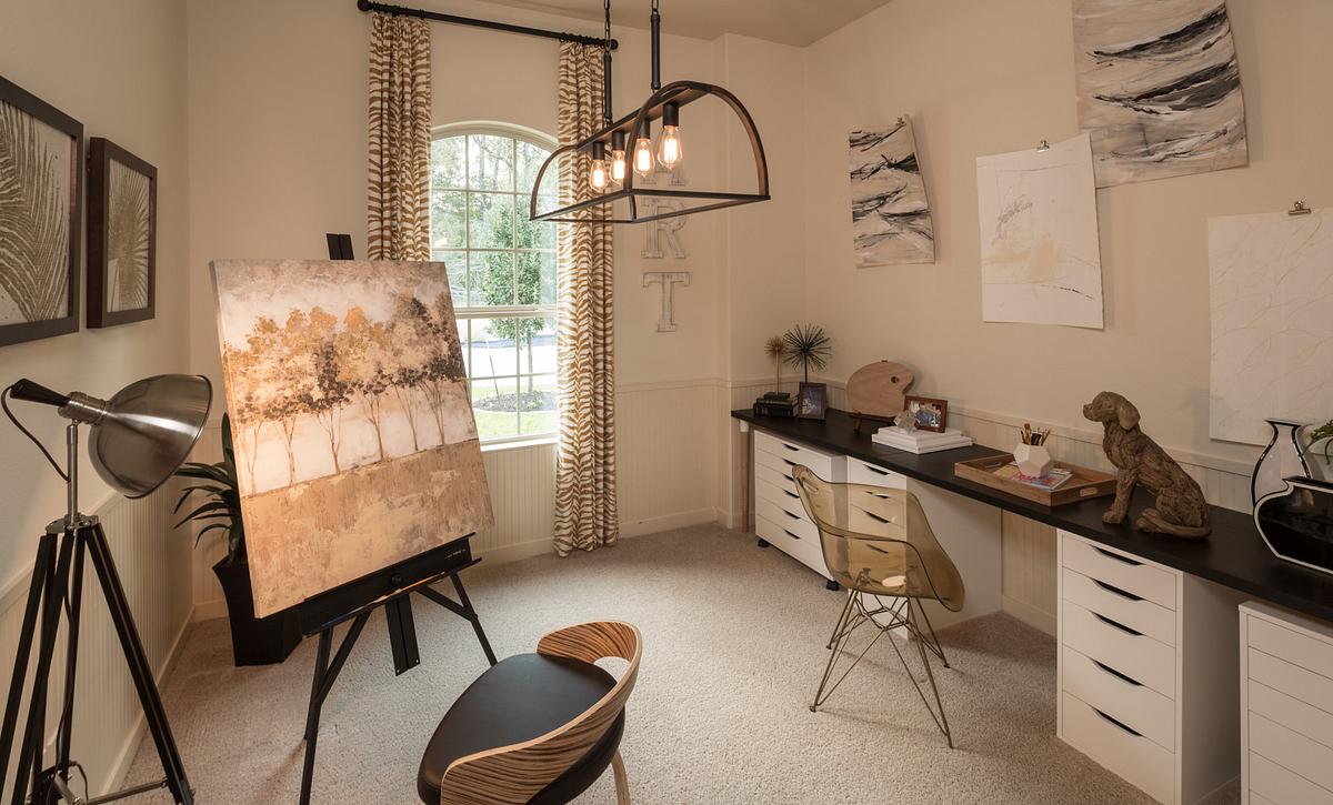 Plan 4132 Hobby Room modeled in Harmony