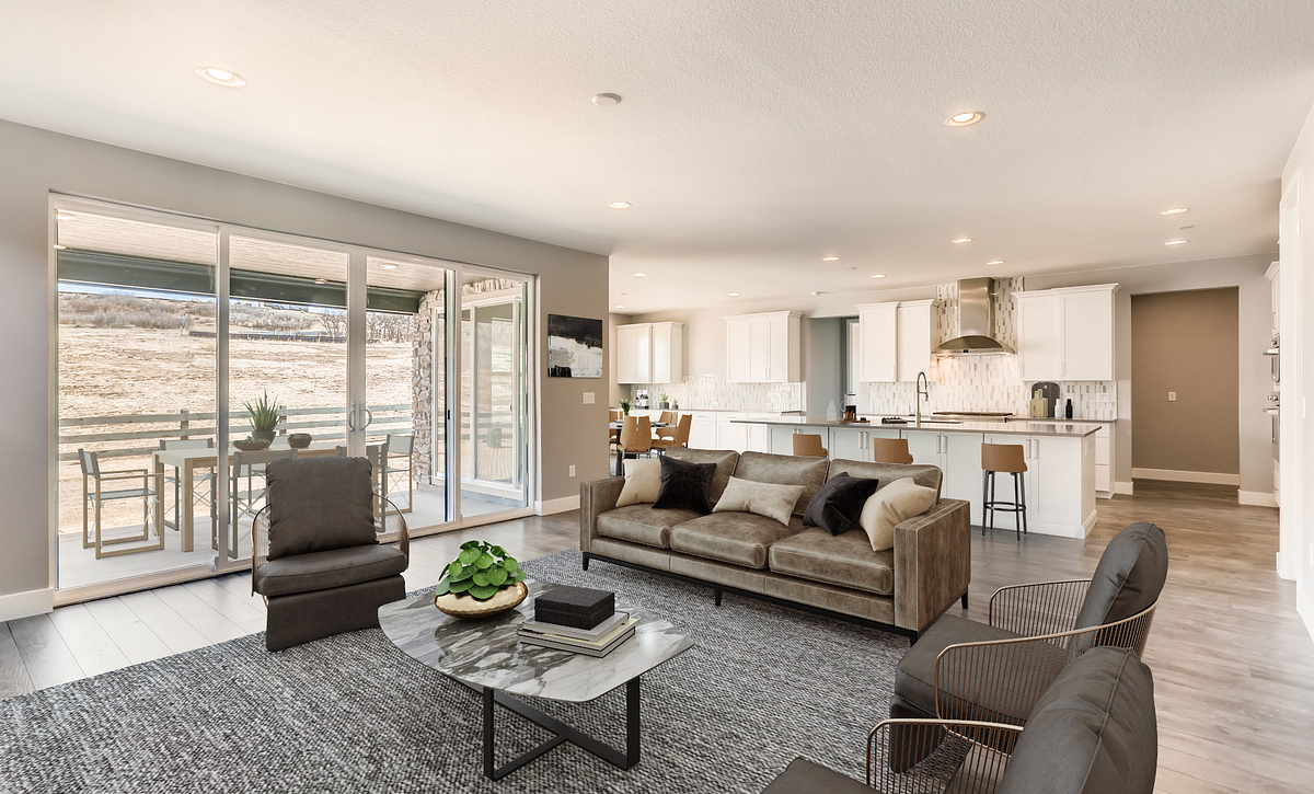 Canyons Luxe Stratton Great Room & Kitchen