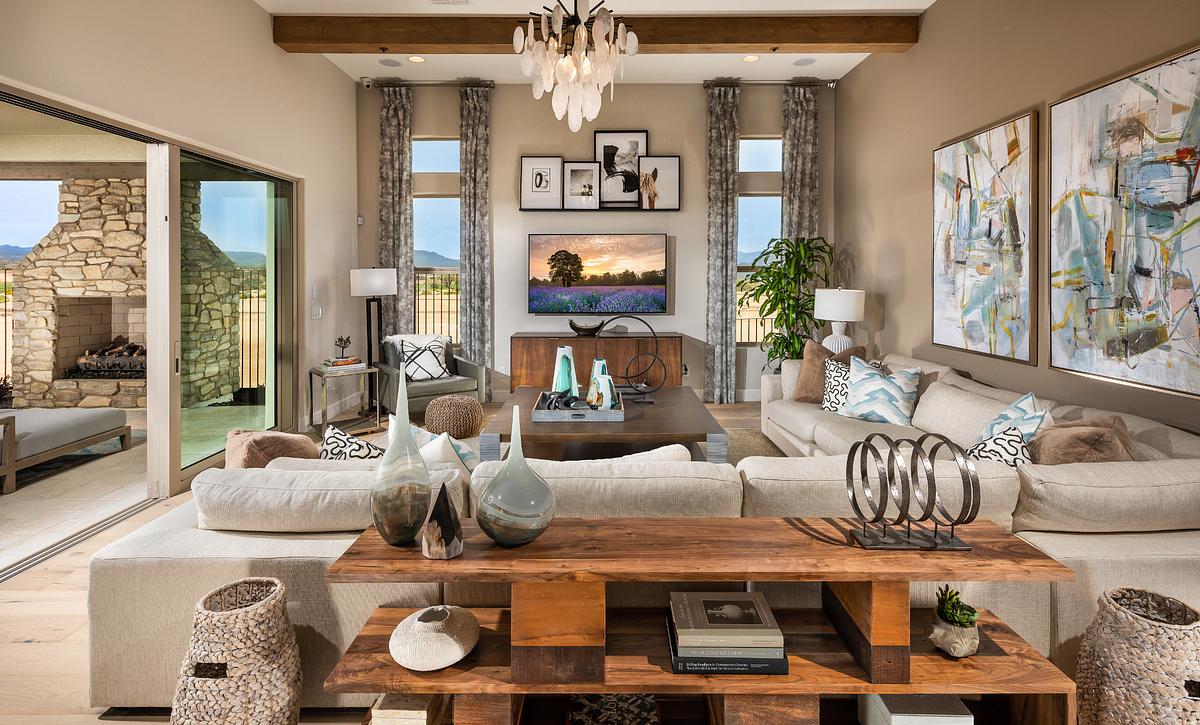 Dorado Model Great Room