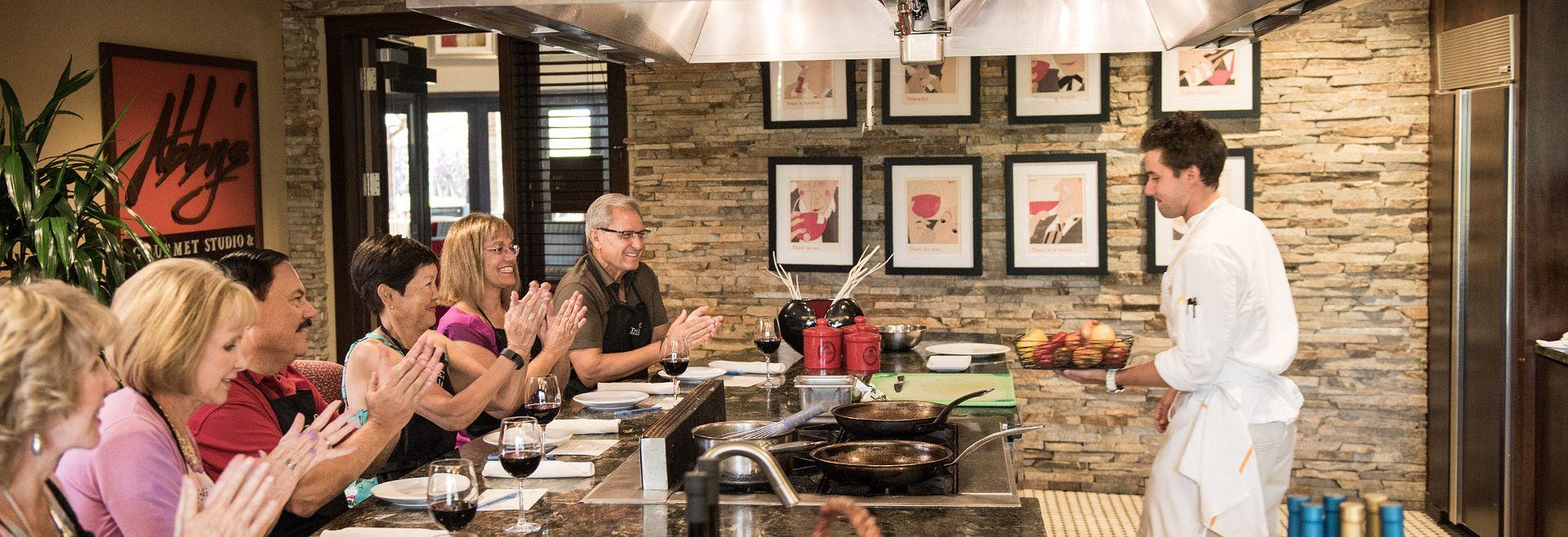 Trilogy Vineyards Chef Demonstration