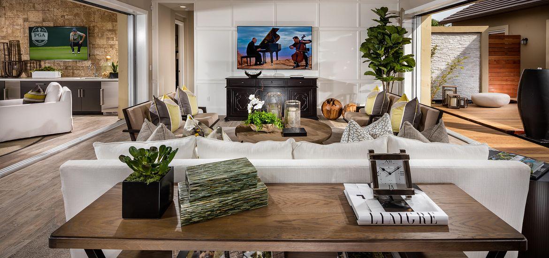 Vista Dorado Plan 3 Living Room