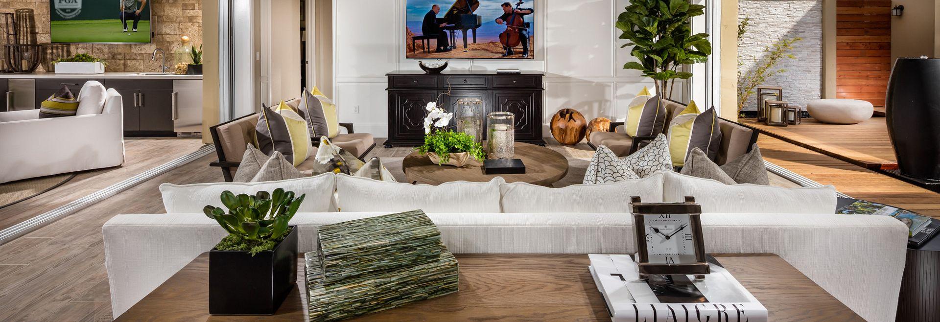 Vista Dorado Plan 3 Brentwood Living Room