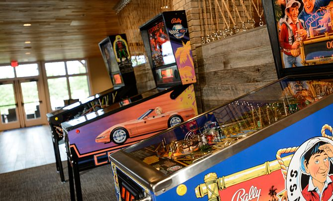 Trilogy at Lake Frederick Club Crow's Nest Arcade