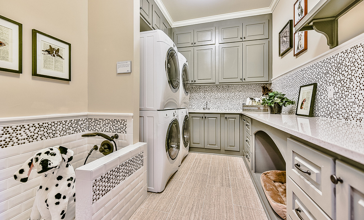 Grayson plan laundry room