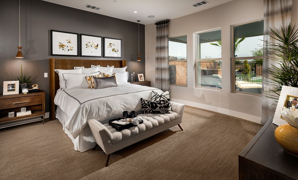 Trilogy Polo Club Liberty Master Bedroom