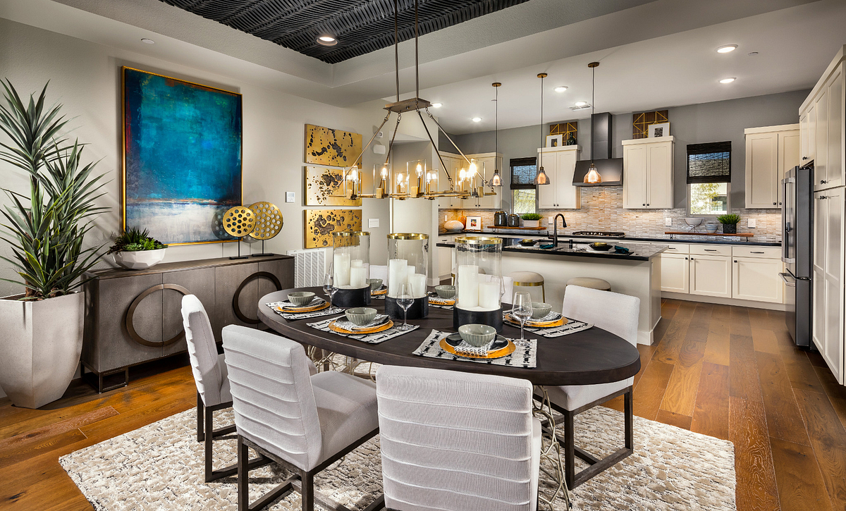 Trilogy Summerlin Splendor Dining Room