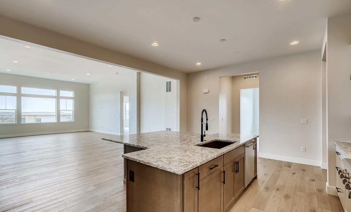 Canyons Retreat Haven QMI Lot 534 Kitchen, Dining, Great Room