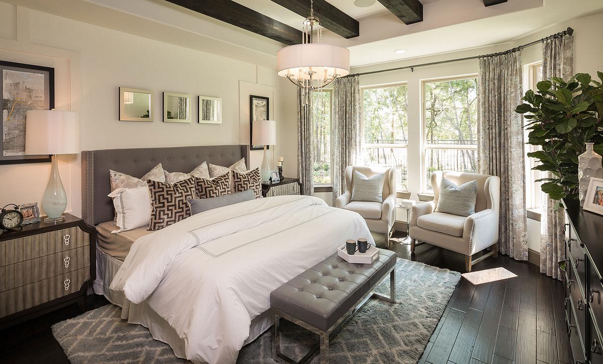 Plan 5128 Master Bedroom