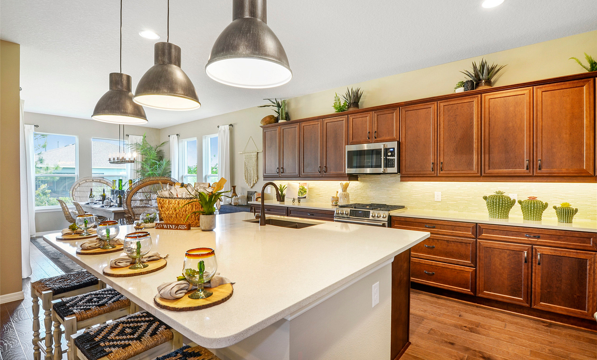 Trilogy at Ocala Preserve Proclaim Model Kitchen