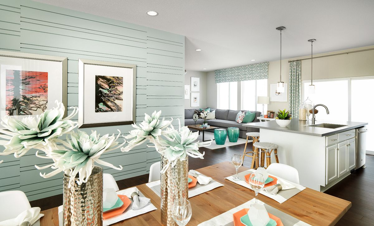 Reunion SPACES Plan 3554 Dining and Kitchen