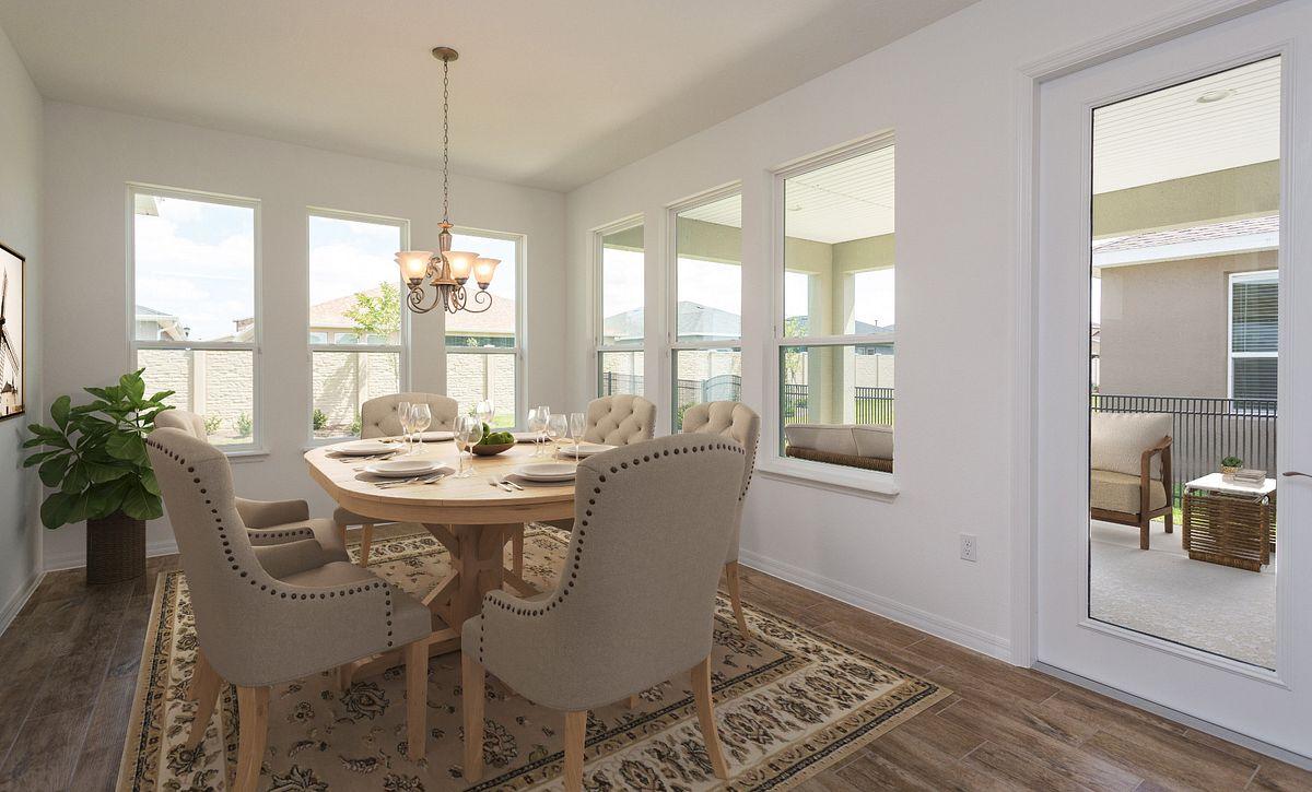 Virtually Staged Trilogy Orlando Homesite 5190 Dining