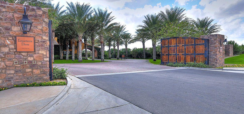 Encanterra Country Club Entrance