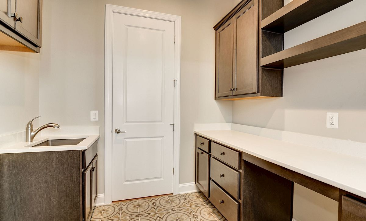 Trilogy at Lake Frederick Hensely Plan Quick Move In Laundry