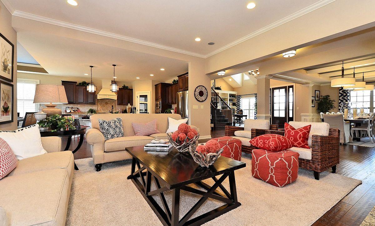 Avalon plan Family Room