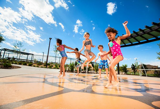Stepping Stone Splash Pad