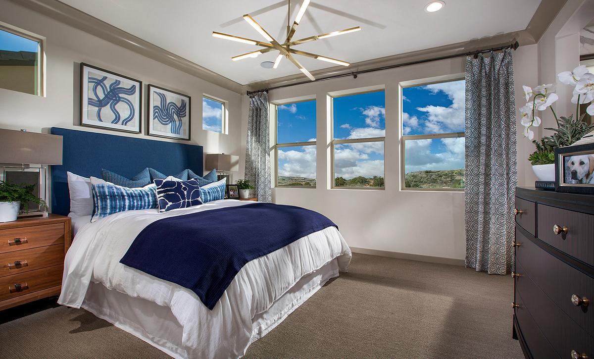 Bristol Plan 1 Master Bedroom