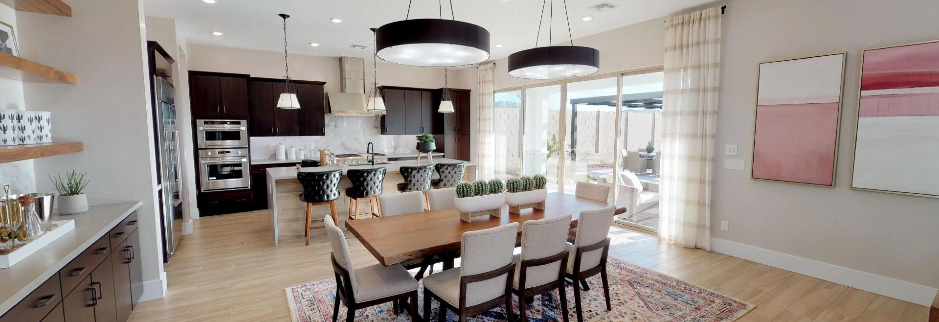 Plan 5016 Dining | Kitchen