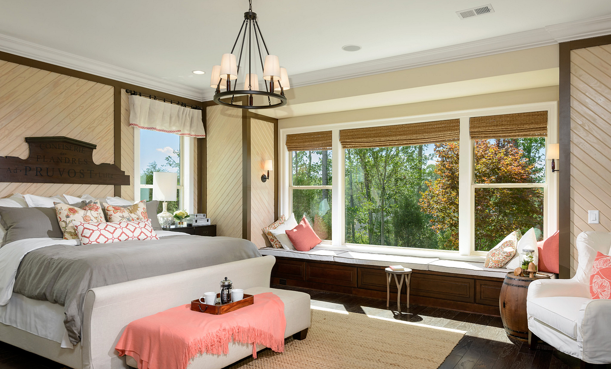 Trilogy Lake Norman Captivate Plan Master Bed