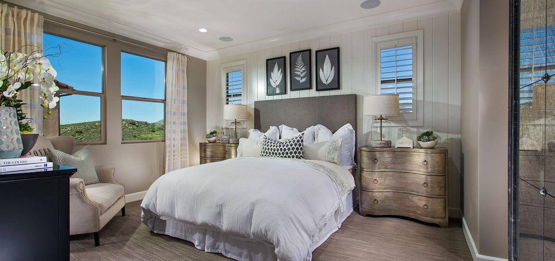 Crestline at Baker Ranch Plan 1 Master Bedroom