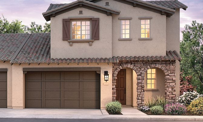 Shea Homes Rice Ranch Acacia+ Tuscan Exterior