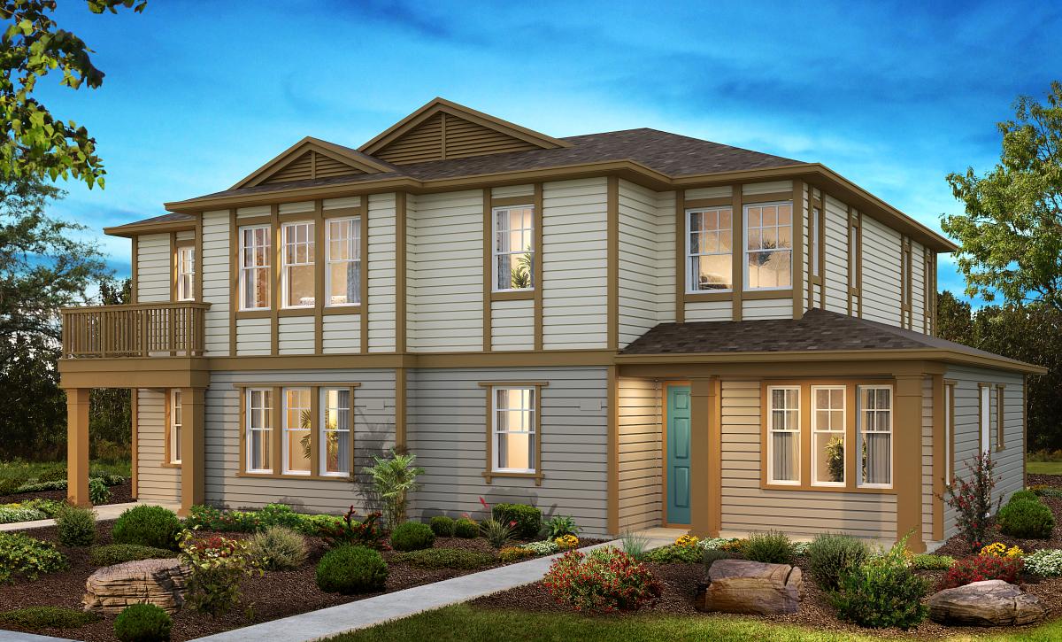 Sea House Plans 1 & 3 Elevation A