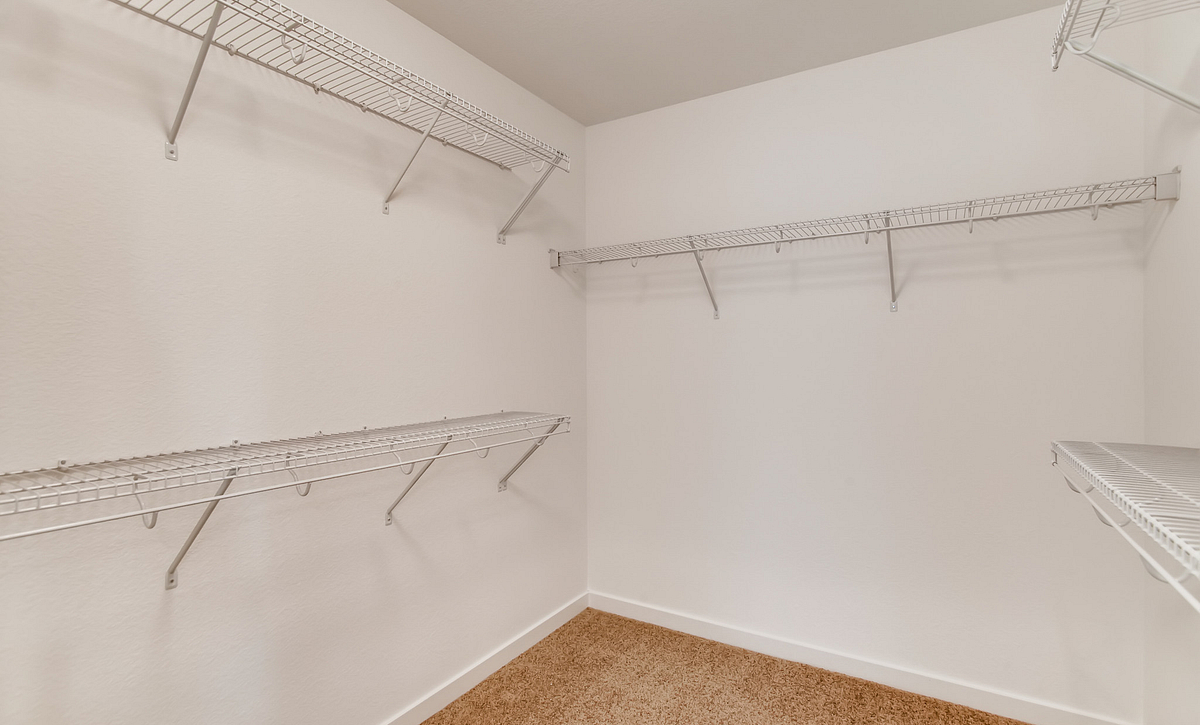 SPACES Reunion Plan 3506 Master Bath Closet