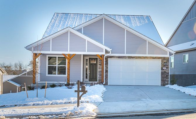 Trilogy at Lake Frederick Quick Move In Aspen Plan Front Exterior