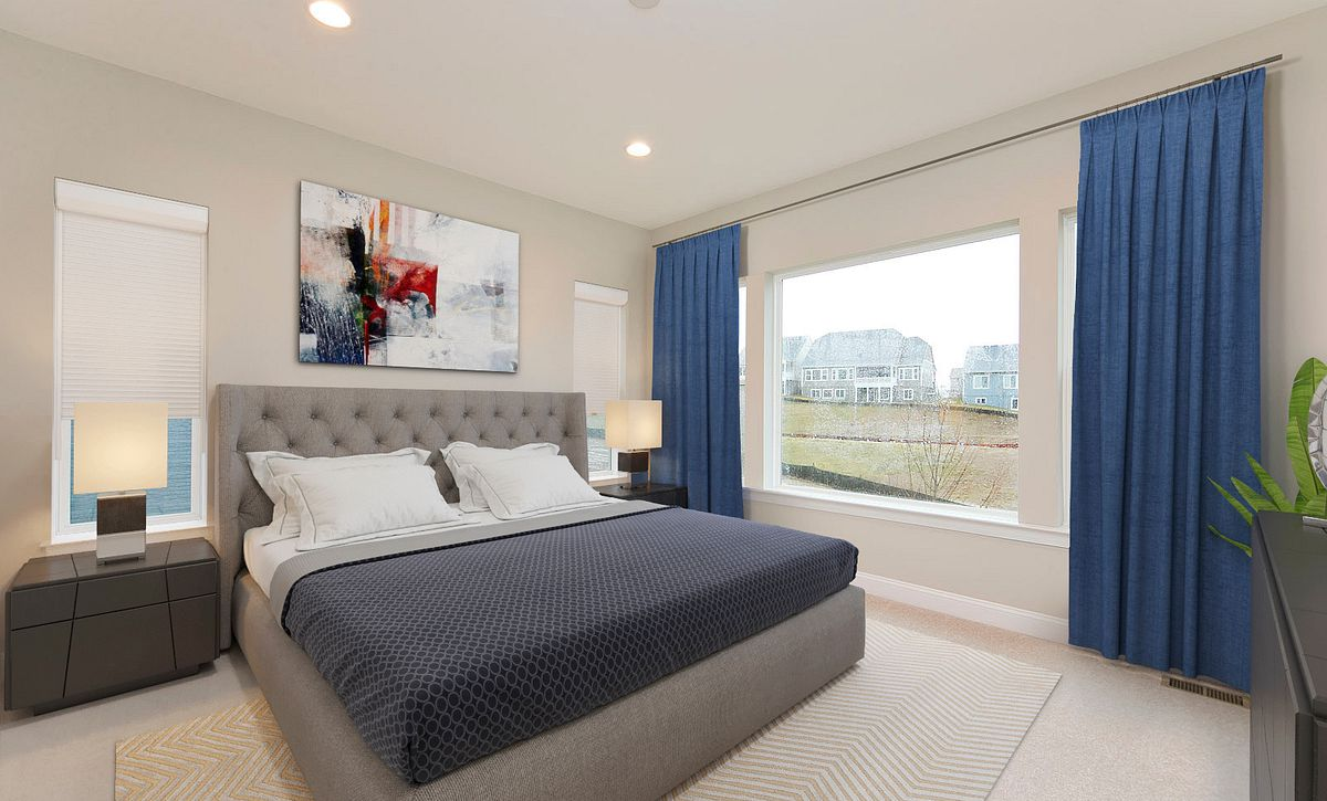 Trilogy at Lake Frederick Quick Move In Home Virtually Staged Owner's Suite