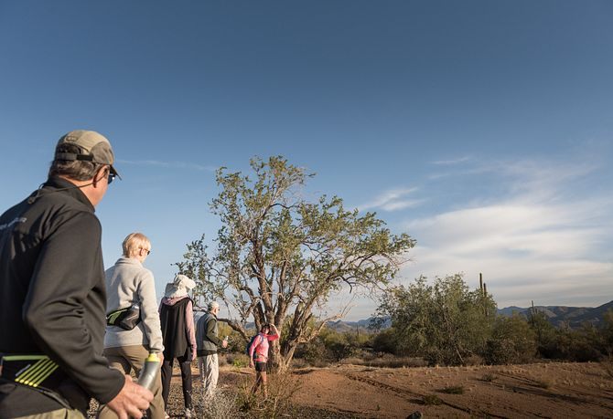 Trilogy Verde River Homeowners Hiking