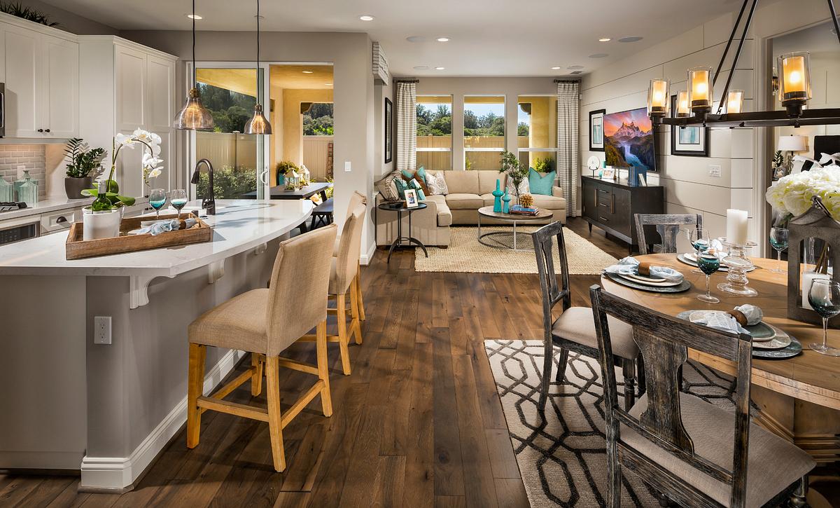 Shea Homes Rice Ranch Acacia+ Great Room