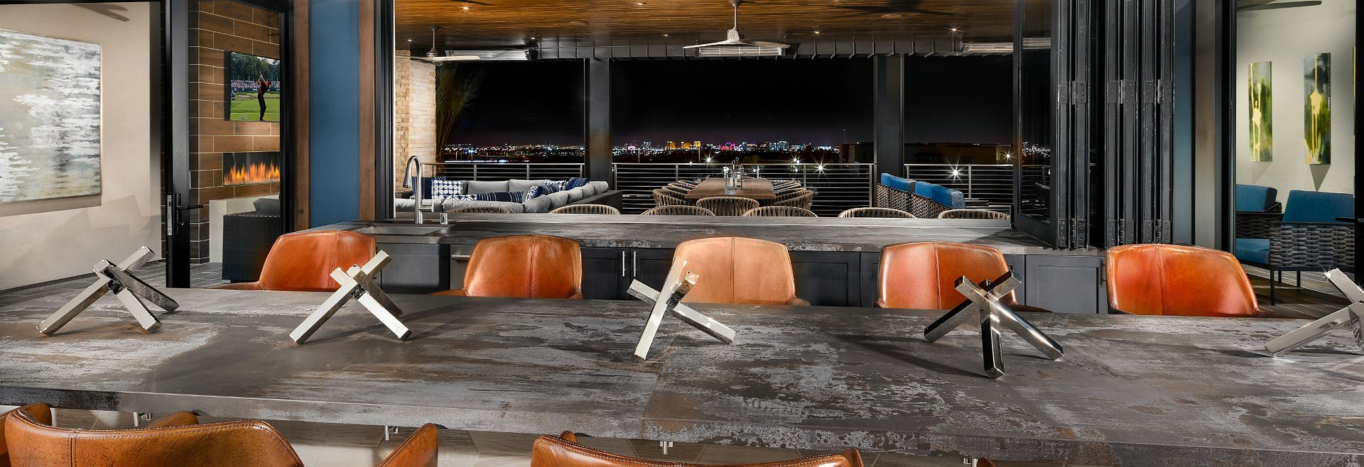 Trilogy in Summerlin The Overlook Sports Lounge