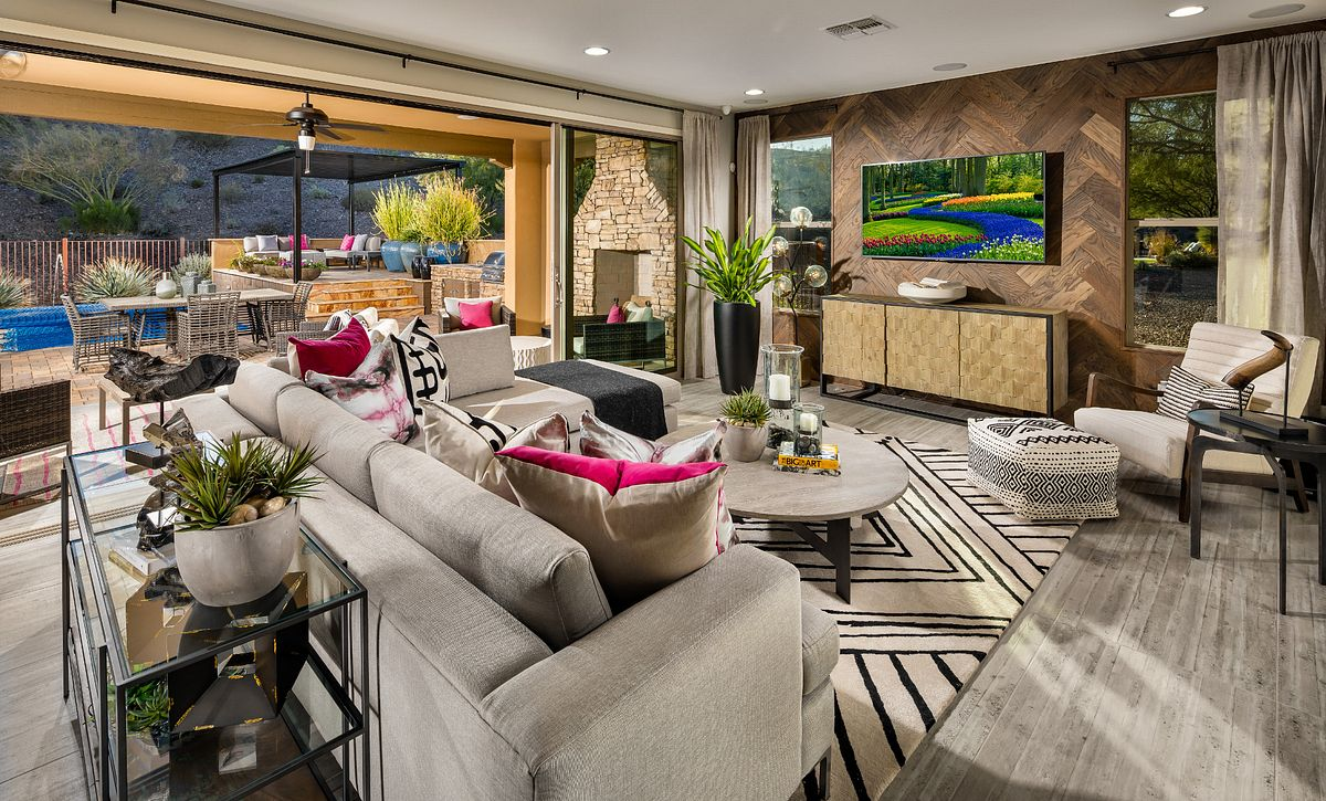 Great Room and Patio