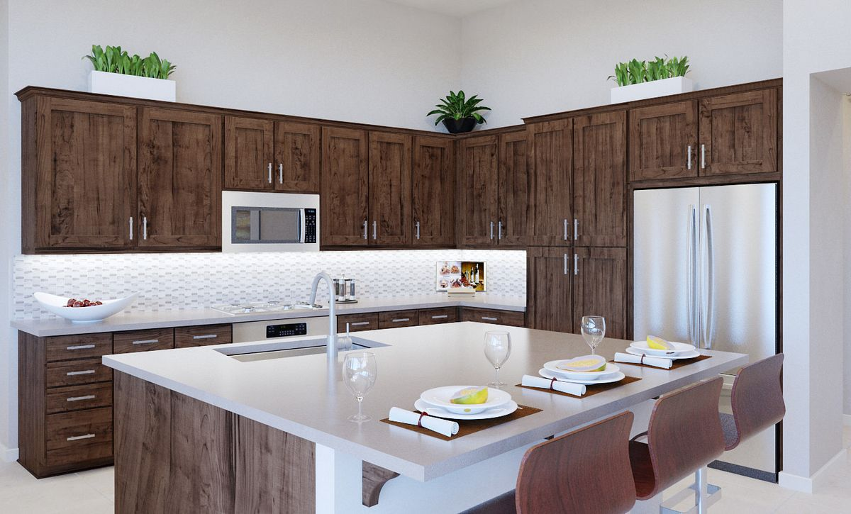 Trilogy Summerlin Summit Kitchen Rendering