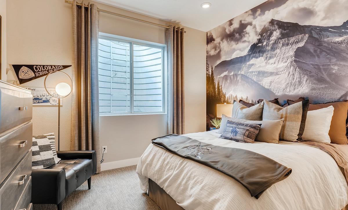Solstice Reflection Stillwater Basement Bedroom