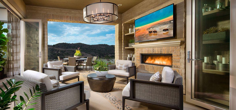 Alondra at Esencia Plan 1 Outdoor Room