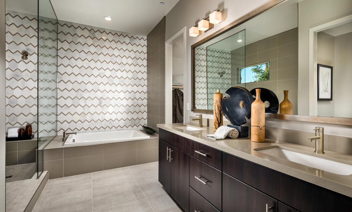 Trilogy Summerlin Radiant Master Bath