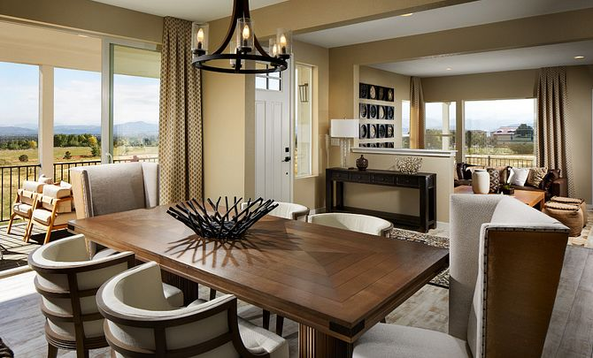 Crescendo at Central Park Plan 2205 Dining Room
