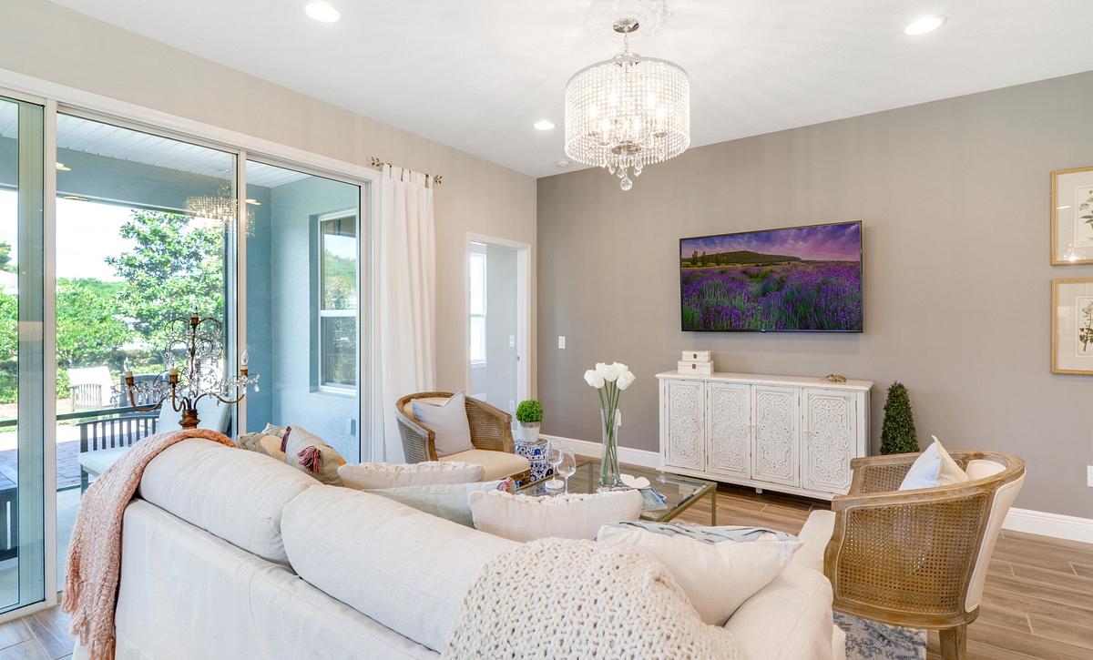 Trilogy at Ocala Preserve Affirm Model Home Great Room