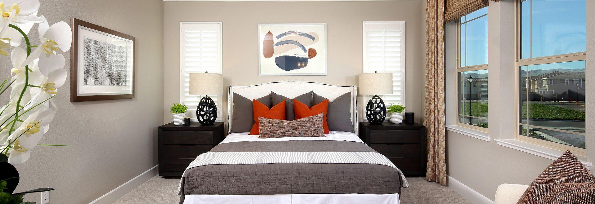 Plan 4 Master Bedroom