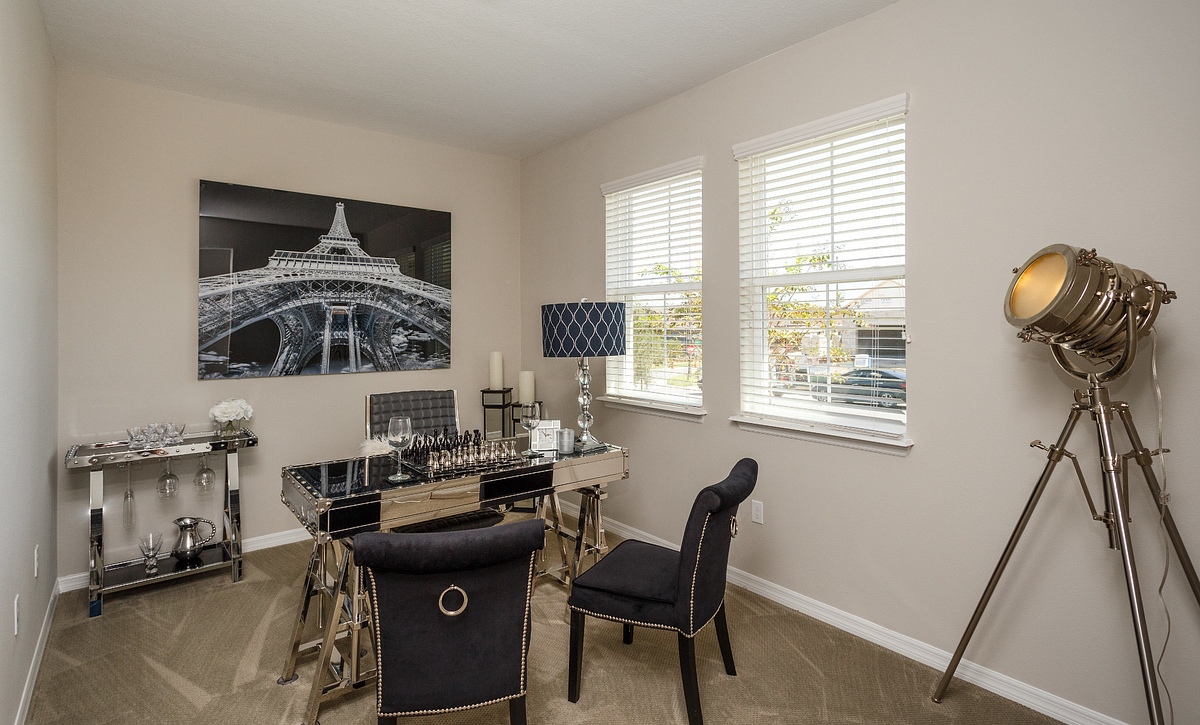 Trilogy Orlando Affirm Model Home Den