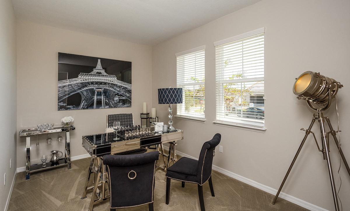 Trilogy Orlando Affirm Model Home Den