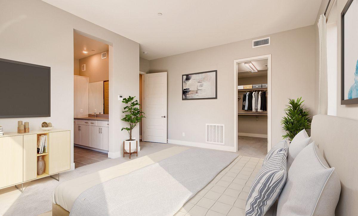 Trilogy Summerlin Inspire Master Bedroom