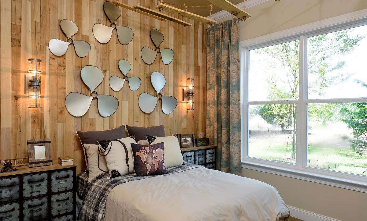 Trilogy Lake Norman Ramsey Plan Guest Bed