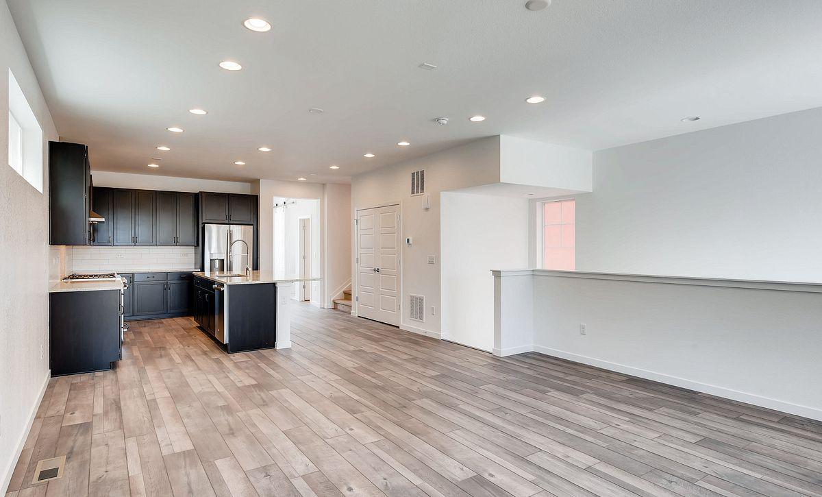Central Park Plan 2202 QMI Lot 55 Great Room & Kitchen