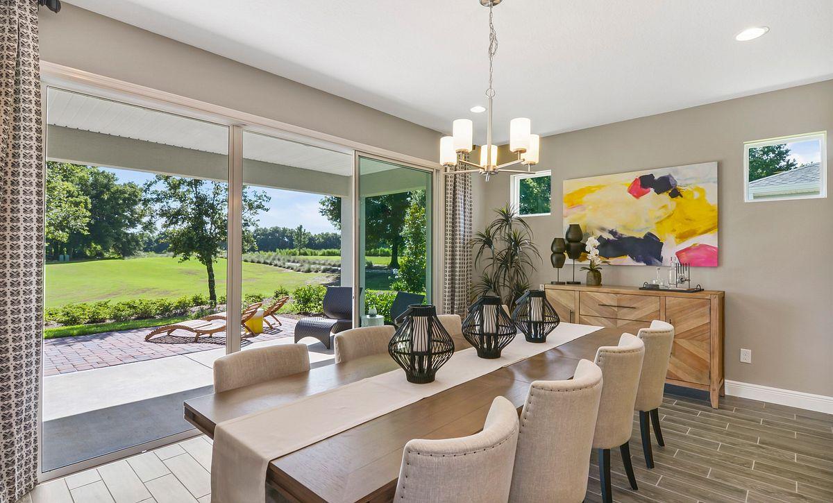 Trilogy at Ocala Preserve Liberty Model Home Dining